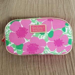 LILY PULITZER Pink Peony Makeup bag